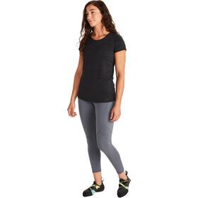 Marmot Aura Koszulka z krótkim rękawem Kobiety, black